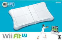 Nintendo Wii Fit U Bundle w/ Balance Board and Fit Meter