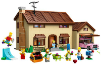 Lego - The Simpson House Now Available