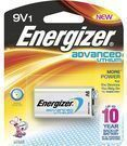 Energizer Advanced Lithium 9V Battery for Smoke Detectors