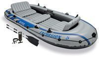 Intex Excursion 5 Inflatable Rafting/Fishing Dinghy Boat Set