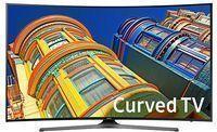 55 Samsung Curved 4K UHD TV + $300 egift Card UN55KU6500F