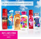 Bath and Body Works - Signature Body Care: Buy 3, Get 2 Free