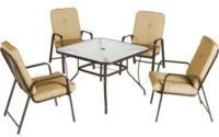 Mainstays Lawson Ridge 5-Piece Patio Dining Set