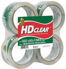 Duck Brand HD Clear-Packaging Tape, 4-Pack
