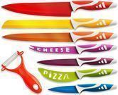 OxGord Professional Stainless Steel 8-Pc. Knife Set