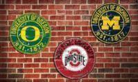 NCAA Vintage Distressed Sign