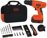 Black and Decker 20V Lithium Drill/Driver Project Kit