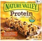 Nature Valley Peanut Butter Dark Chocolate Chewy Bars, 6-Pk