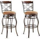 Acme Tavio Swivel Bar Chairs - Set of 2