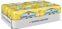 24-Pack 11.15oz San Pellegrino Sparkling Beverage (Lemon)