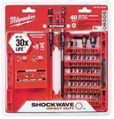 Milwaukee 40-pc Shockwave Impact Duty Steel Driver Bit Set