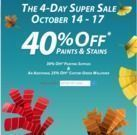 40% Off Paints & Stains (In-Store)