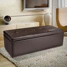 Charles Leather Storage Ottoman by Home Loft Concepts