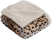Tiger Throw Blanket by Lavish Home