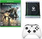 Titanfall 2 (Xbox One) + Wireless S Controller + Cinch Sac