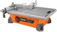 Rigid 7 Job Site Wet Tile Saw