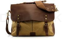Men's Canvas Military Messenger Travel Bag