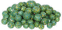 72-Piece Sequin and Glitter Christmas Ball Ornament Set