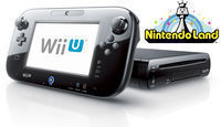 Black Wii U 32GB Deluxe + Nintendo Land (Factory Refurb)