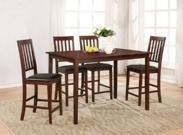 Essential Home Cayman 5-Piece High Top Dining Set