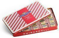 Ghirardelli Chocolate - Peppermint Bark 100-Piece Tin on Sale for $24.97