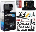 GoPro HERO5 Black Edition + 64GB Card, 45pc Accessories Kit