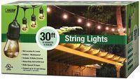 Feit Electric 30-Foot 10-Socket Outdoor String Light Set