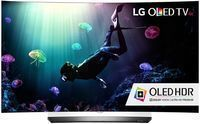LG Curved 55 4K Ultra HD Smart OLED 3D TV - OLED55C6P