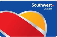 $100 Southwest Airlines Gift Card - Email Delivery