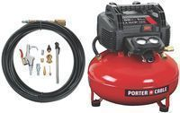 Porter-Cable 6-Gallon Oil-Free Pancake Air Compressor