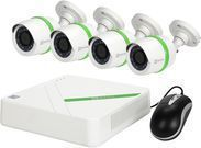 Ezviz 4-Channel 4-Camera 1TB DVR Surveillance System