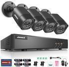 Annke 1080p Security System w/ 4 Cameras