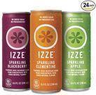 Izze Sparkling Juice 8.4-oz. Can 24-Pack