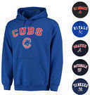 MLB Stitches Hooded Fleece Pullover (17 Teams)