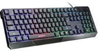 Elegiant Colorful LED Illuminated USB Keyboard