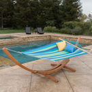 Ava Canvas Hammock With Stand
