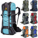 60L Camping Waterproof Backpack (4 Colors)