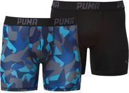 PUMA Broken Camo Printed Boxer Briefs (2 Pack) - 2 Colors