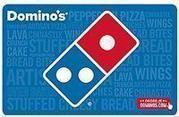 $25 Domino's Pizza eGift Card + FREE $5 eGift Card