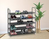 5 Or 10 Tier Shoe Rack Organizer (3 Colors)