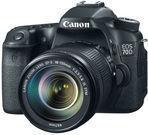Canon EOS 70D DSLR Camera + 18-135mm Lens (Refurb)