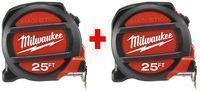 Milwaukee 25 ft. Magnetic Tape Measure (2 Pack)