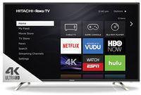 Hitachi 55 4K 2160p LED-Backlit LCD UHD Roku Smart TV