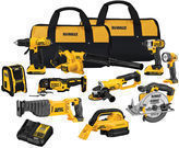 Dewalt 20-Volt 10-Tool Cordless Power Tool Kit