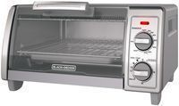 Black+Decker 2 Knob Toaster Oven