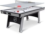 NHL Power Play Hover Hockey Table w/ Table Tennis Top
