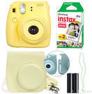 Fuji Instax Mini 8 Instant Film Camera Bundle
