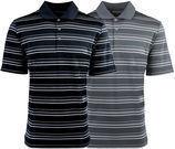 Adidas Men's Puremotion Stripe Polo Shirt - 8 Colors