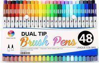 48-Count Smart Color Art Dual Tip Brush Pens