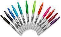 Sharpie Retractable Markers (Fine Point, 12 Count)